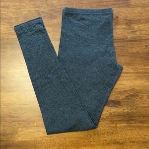 3/$15 - Lauren Conrad simple gray leggings